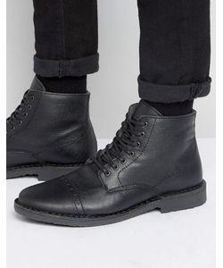 Jack & Jones | Утепленные Кожаные Ботинки Gobi