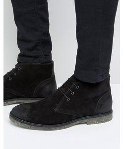 Asos | Замшевые Ботинки Чукка На Шнуровке С Подошвой В Крапинку