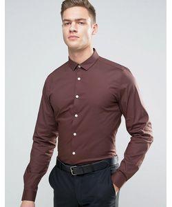Asos | Узкая Рубашка Из Эластичной Ткани