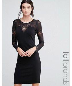 Y.A.S Tall | Платье С Кружевом На Топе Cary