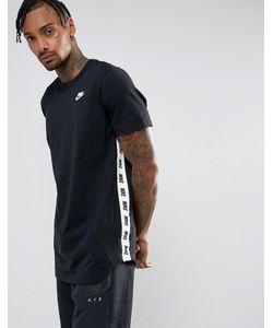 Nike | Черная Футболка С Принтом 877086-010