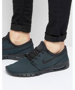 Nike SB | Черные Кроссовки Stefan Janoski Max 631303-013