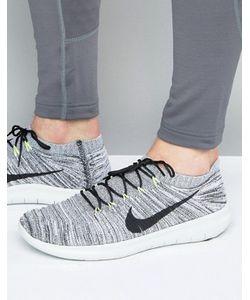 Nike Running | Серые Кроссовки Free Run Motion Flyknit 834584-100