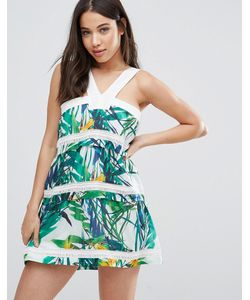 d.Ra | Платье С Тропическим Принтом Shanna