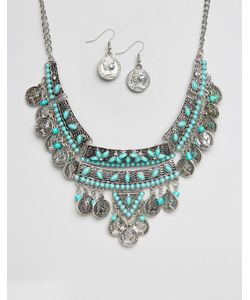 Ruby Rocks | Ожерелье И Серьги С Монетками