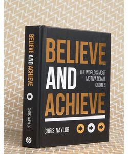 Books | Книга Believe And Achieve