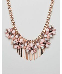 Aldo | Ожерелье С Металлической Цепочкой И Отделкой