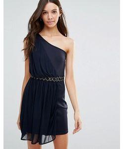 Jasmine | Платье На Одно Плечо С Отделкой На Талии