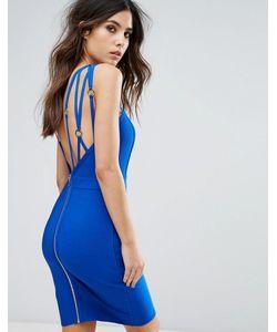 WOW Couture | Бандажное Платье С Ремешками