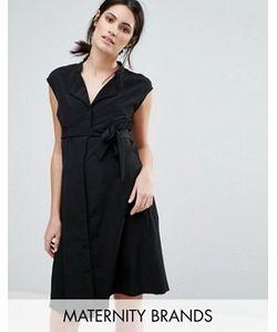 Mama Licious | Платье Без Рукавов С Поясом Mamalicious