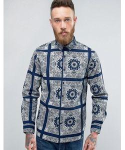 Edwin | Синяя Рубашка Standard Bandana