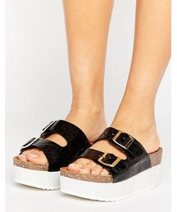 RAID | Kooper Flatform Slide Flat Sandals