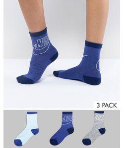 Nike | 3 Пары Носков