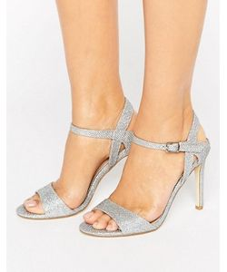 London Rebel | Barely There Heeled Sandal