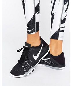 Nike | Черно-Белые Кроссовки Tr6
