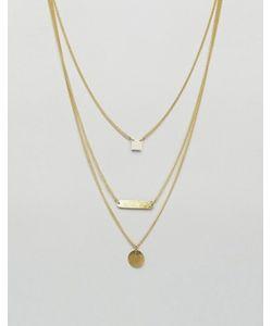 Made | Многоярусное Ожерелье Dainty