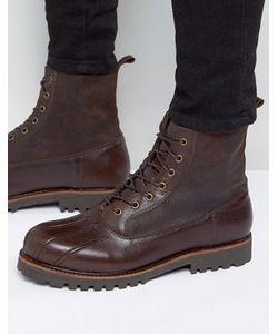 Asos | Кожаные Ботинки На Шнуровке