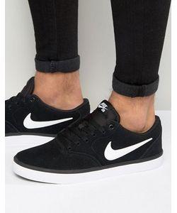 Nike SB | Черные Кроссовки Check Solar 843895-001