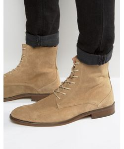 Zign | Lace Up Suede Boots