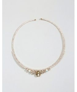 NYLON | Ожерелье-Воротник Со Стразами