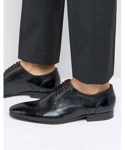 Ted Baker | Черные Кожаные Туфли На Шнуровке Vandro