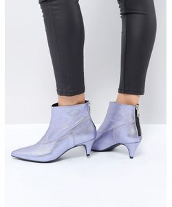 Gestuz | Ботинки С Эффектом Металлик