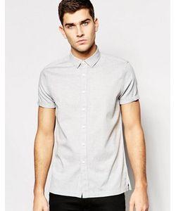 Asos | Рубашка Классического Кроя С Узором В Елочку