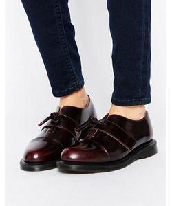 Dr. Martens | Кожаные Туфли На Плоской Подошве С Узелками Dr Martens Eliza