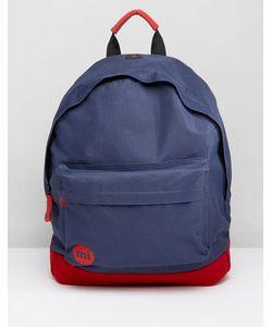 MI-PAC | Классический Рюкзак С Контрастной Красной Вставкой Mi Pac