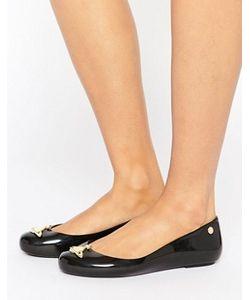 Vivienne Westwood for Melissa | Черные Туфли На Плоской Подошве