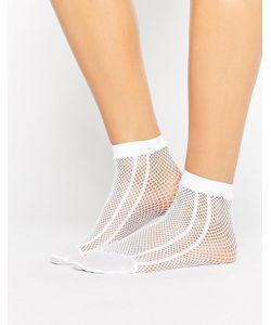 Asos | Сетчатые Носки С Полоской По Бокам