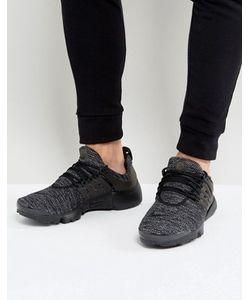 Nike | Черные Дышащие Кроссовки Air Presto 898020-001