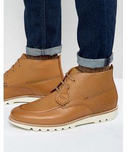 Kickers | Кожаные Ботинки На Шнуровке Kymbo Mocc