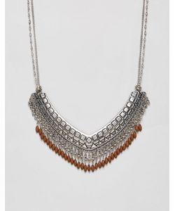 NYLON | Фестивальное Ожерелье С Отделкой В Виде Бахромы