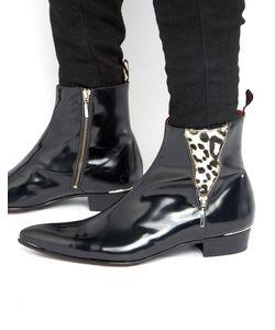 Jeffery west | Кожаные Ботинки С Молнией Adam Ant