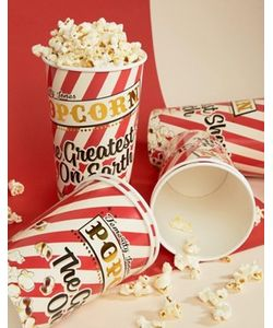 Temerity Jones | Carnival Party Popcorn Cups