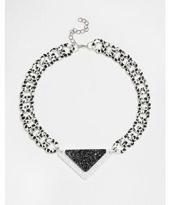 Suzywan DELUXE   Черно-Белое Ожерелье