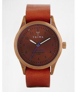 Triwa | Бронзовые Часы С Кожаным Ремешком Lansen Last104