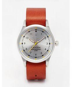 Triwa | Lansen Leather Strap Watch