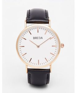 Breda | Classic Leather Band Watch