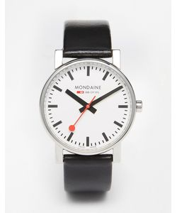 Mondaine | Evo Leather Strap Watch