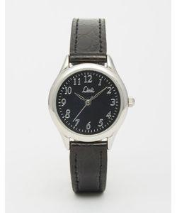 Limit | Черные Часы С Кожаным Ремешком