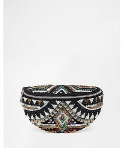 ASOS Collection   Декорированная Сумка-Кошелек На Пояс С Ацтекским Узором Asos