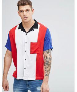 Jaded London | Рубашка Классического Кроя С Отложным Воротником И Вставками