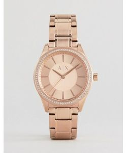 ARMANI EXCHANGE   Часы Цвета Розового Золота Glitz Nicolette