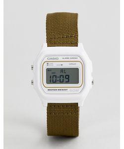 Casio | Цифровые Часы С Парусиновым Ремешком Цвета Сasio W-59b-3avef