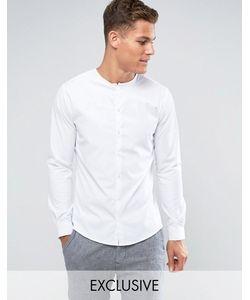 Noak | Облегающая Рубашка Без Воротника