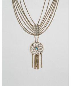 Ashiana | Броское Ярусное Ожерелье С Ловушкой Снов