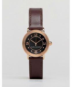 Marc Jacobs | Часы С Темно-Вишневым Кожаным Ремешком Riley Mj1474