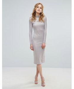 Glamorous | Платье С Высокой Горловиной